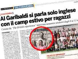 Drama Co-ordinator: Chiavenna, Italy
