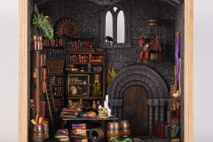 Miniture wizards library