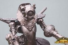 'Conquistador' Bio-mechanical sculpture