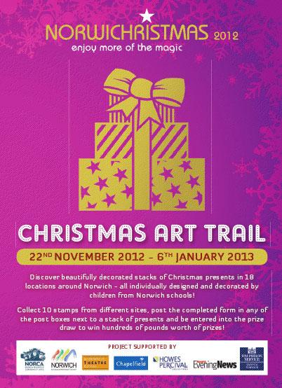 Norwich Christmas Art Trail 2012 Flyer