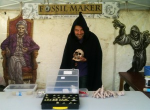 Fossil Maker at Hedingham Castle