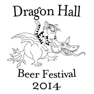Dragon Hall Beer Festival Logo 2014