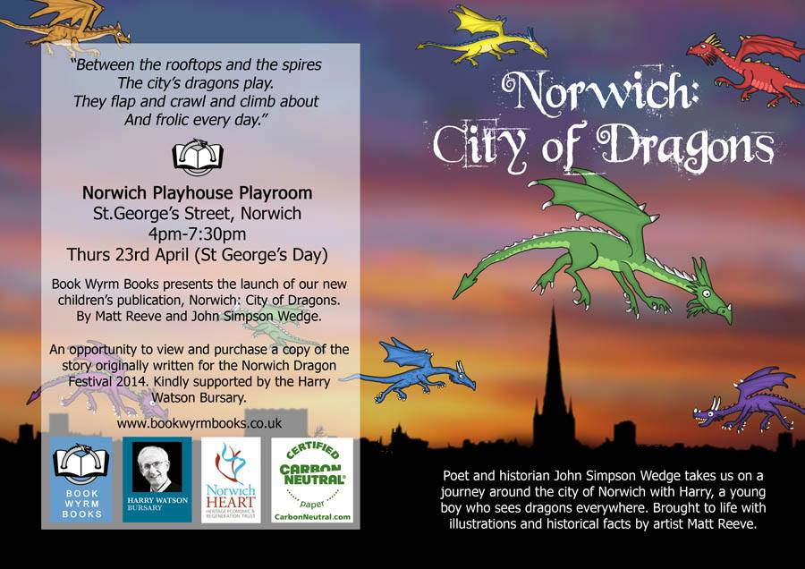 Norwich City of Dragons Launch