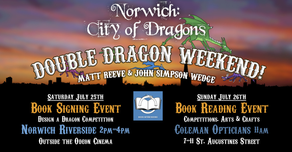 Norwich: City of Dragons book reading