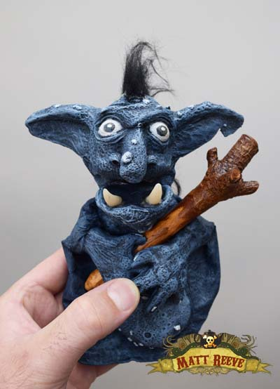 Troll Puppet: Norwich Puppet Theatre Auction