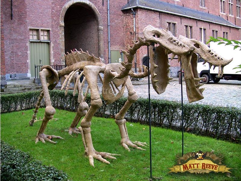 Two Headed Dragon Skeleton