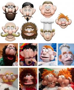 Pantomime Puppets