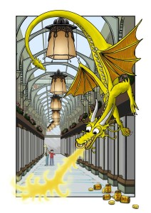 Royal Arcade Dragon