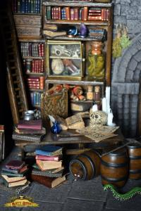 Sorcerers Study. Detail