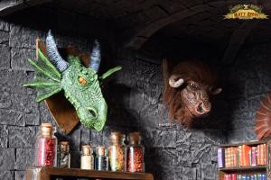 Dragon & Minotaur Trophy